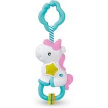 Interactive rattle unicorn